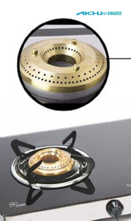 Gas Stove With Tempered Glass