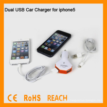 Dual USB Car Charger for iphone5