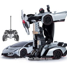 Remote Control transformation robot- car for children
