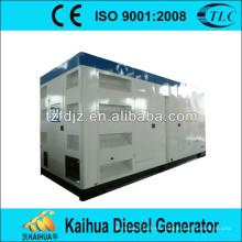 Generador diésel de tipo silencioso 1250Kva alimentado por un tomacorriente de fábrica de Perkins