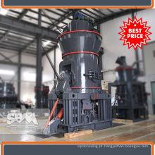 Talco, mica, linha de produção de cimento de aplicação de magnesita para a Nigéria