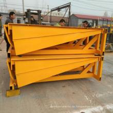Feste Laderampe für Traliers, hydraulische elektrische Ladebrücke für Container