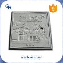Schönes Aussehen maßgeschneiderte FRP Composite Inspektion Brunnenkappen