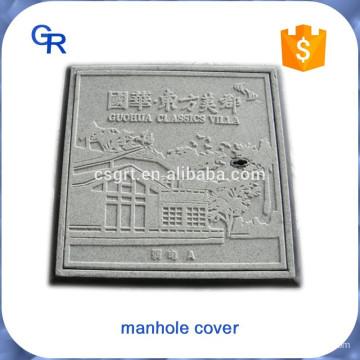 Boa aparência personalizada FRP composto inspeção poço tampas