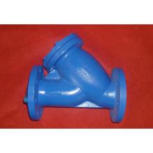 cast iron short structure flange filter/ strainer