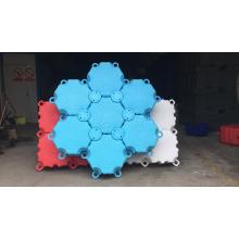 New design Hexagon guangzhou portable boat dock wholesale pontoons marine pontoon