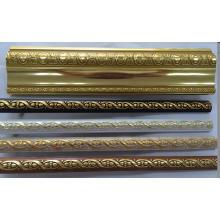 Golden / Coffee / Wooden / White Couleur PS Décoration Moulage Corniche