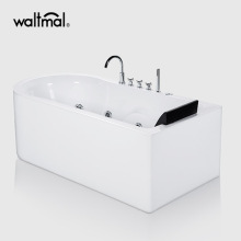 Mewah Single Bather Freestanding Whirlpool Bath