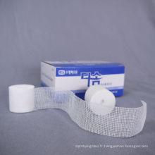 Bandage de pansement, pansement Haemostatic 19x9 blanc gaze 100 pansement, pansement militaire chirurgical jetable