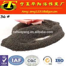 Grade abrasiva de jato de água com granito 80