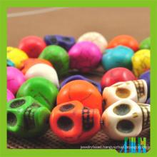 Sell Dyed Howlite Skull beads Turquoise Skull Beads