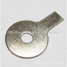 Hochwertiger Stahl vernickelt spezielle geformte flache Unterlegscheibe für Kühlschrank elektrische Heizung / Heizgerät verwendet