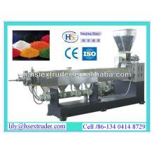 La serie de SJ solo máquina granulating plástico residuos tornillo