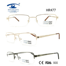 Popular Man Half Frame Metal Glasses Frame