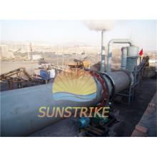 Secadora de lodo de carbón de ahorro de energía con bajo consumo de combustible