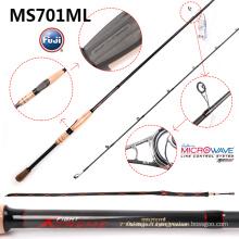 Canne à pêche Spinning de haute qualité Ms701ml