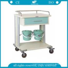 АГ-MT029 ИСО CE малых ящиков металлический каркас клинике коммунальные больнице УЗИ тележки