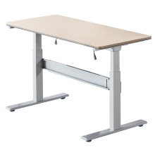 The Automic Electric Adjustable Office Desk With Two Lifting Columns