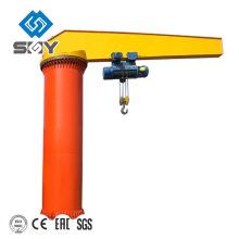 Grúa de brazo giratorio fácil de operar de 360 grados