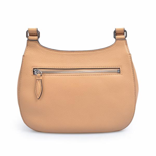 Luxury Brand Lattice Saddle Crossbody Bags for Young Ladies