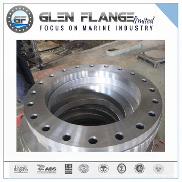 Carbon Steel Flange with Lr, DIN/ANSI/En/JIS