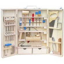 Caja de herramientas de madera - 42 PCS juguete de madera