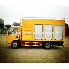 El agua de 4X2 Dongfeng purifica el camión / las aguas residuales purifican el camión del tratamiento / las aguas residuales al camión de la purificación del agua potable