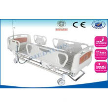 Multifunctional ICU Hospital Bed , ABS Board Emergency Sick