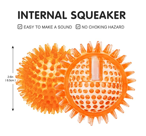 Squeaky Dog Balls Toy 2