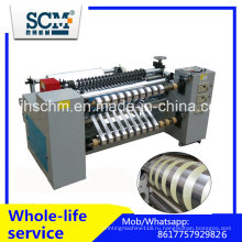 Jumbo Roll BOPP, ПВХ, ПЭТ, ПЭ машина для продольной резки рулонов
