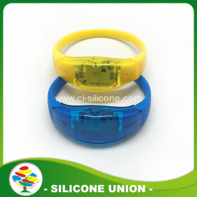 High Quality Custom Silicone Led Wristband