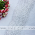 Welcome Best Snow-White Color Beaded Garland With Artificial Pearl