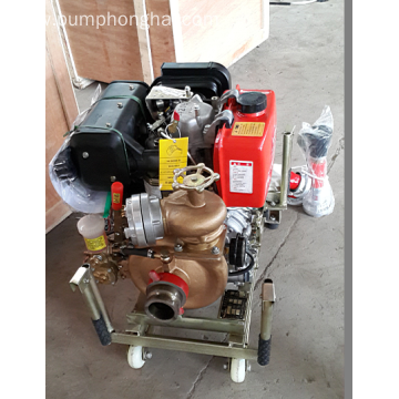 CWY series portable diesel engine emergency fire pump