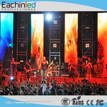 Affichage à LED mince et léger en aluminium audio et visuel