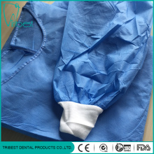 Disposable Surgical Waist Tapes SMS Isolation Gown