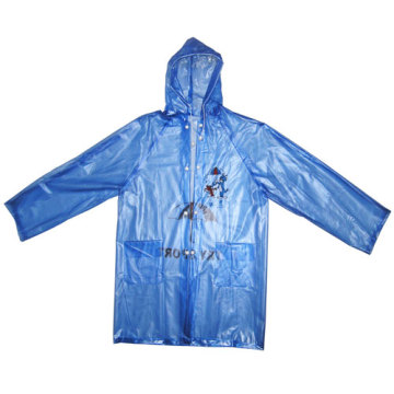 High Quality Kids Pvc Raincoat