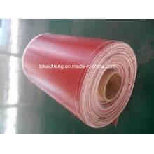 Manta anti incendios de silicona antiadherente resistente a altas temperaturas
