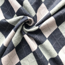 Uniform cloth fabric with classic check design