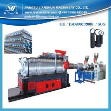 Certificación internacional para tubo corrugado de doble pared Horizontal que hace la máquina