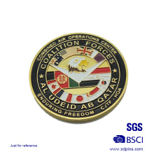 Metal American Forces Enamel Souvenir Coins for Sale