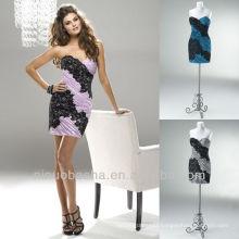 Column Mini Black Lace Short Zipper Closure Sweetheart Graduation Dress Homecoming Gown