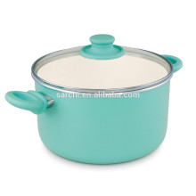 Ceramic easy cleaning aluminum pot