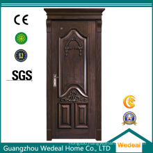 Customize Painted Black Wood/MDF Door for Houses and Villa Projects