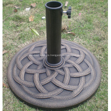 Garden 9KGS Typic Resin Round Parasol Base