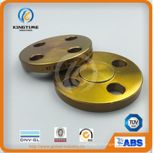 Bride forgée en acier au carbone bride A105n à ASME B16.5 (KT0409)
