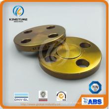 Flange cega de aço carbono A105n Flange forjada para ASME B16.5 (KT0409)