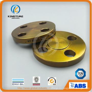 Brida ciega de acero al carbono A105n brida forjada a ASME B16.5 (KT0409)