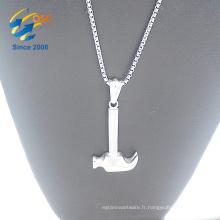 Nouvelle arrivée mode femmes bijoux marteau pendentif collier