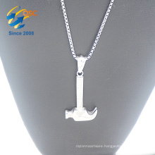 New arrival fashion women jewelry hammer pendant necklace