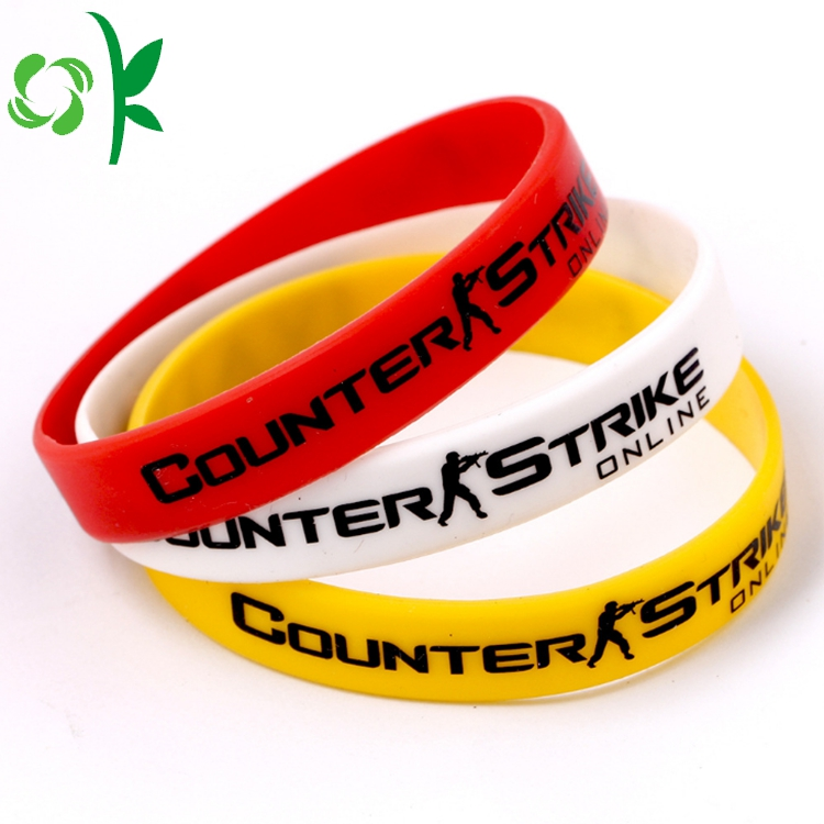 Silicone Printing Cartoon Shape Bracelet